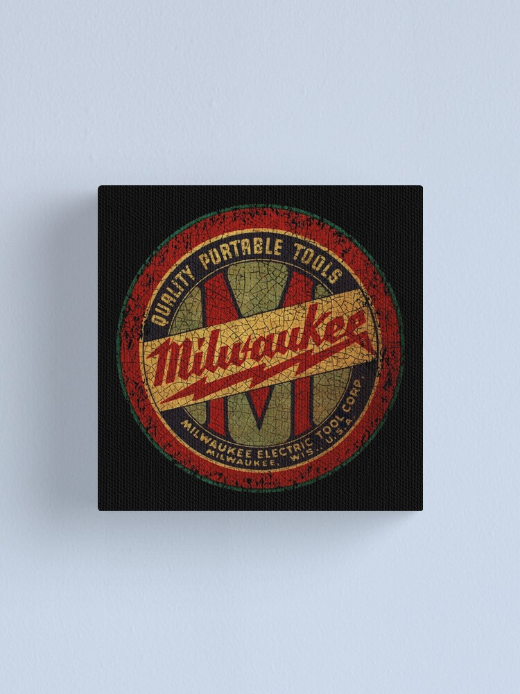 Alternate view of  Vintage Power Tools USA Canvas Print