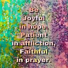 Be Joyful in Hope by Jewell  McChesney