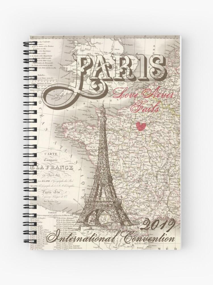 Paris International Convention Love Never Fails | Spiral Notebook