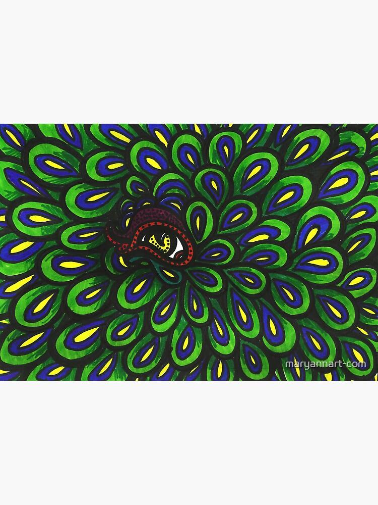 Peacock Eye by maryannart-com
