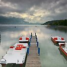 Annecy - Clouds over the lake by Patrick Morand