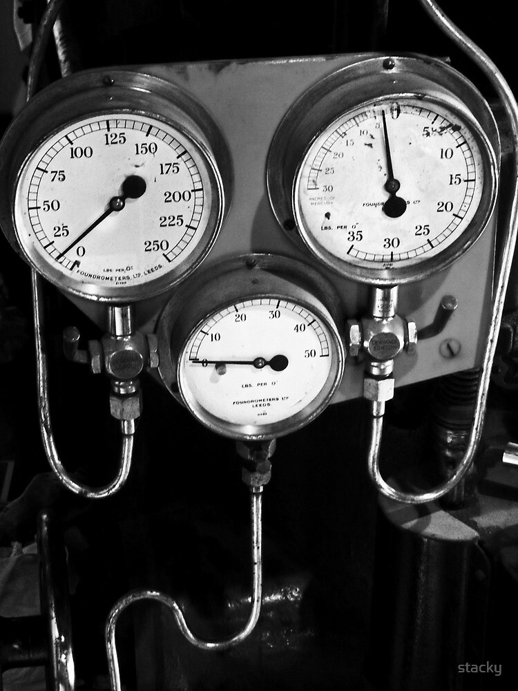 Old gauges by Stacey Pritchard