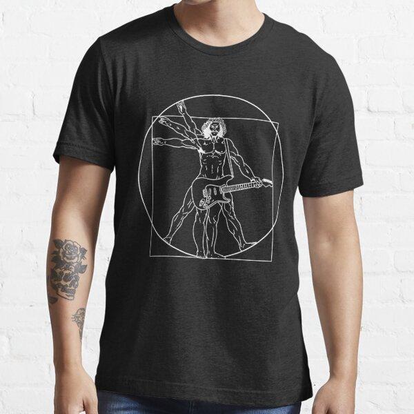 Vitruvian Man Guitar Da Vinci Guitarist Gift Essential T-Shirt