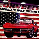 """Corvette ~ America's Only Sportscar"" by Gail Jones"