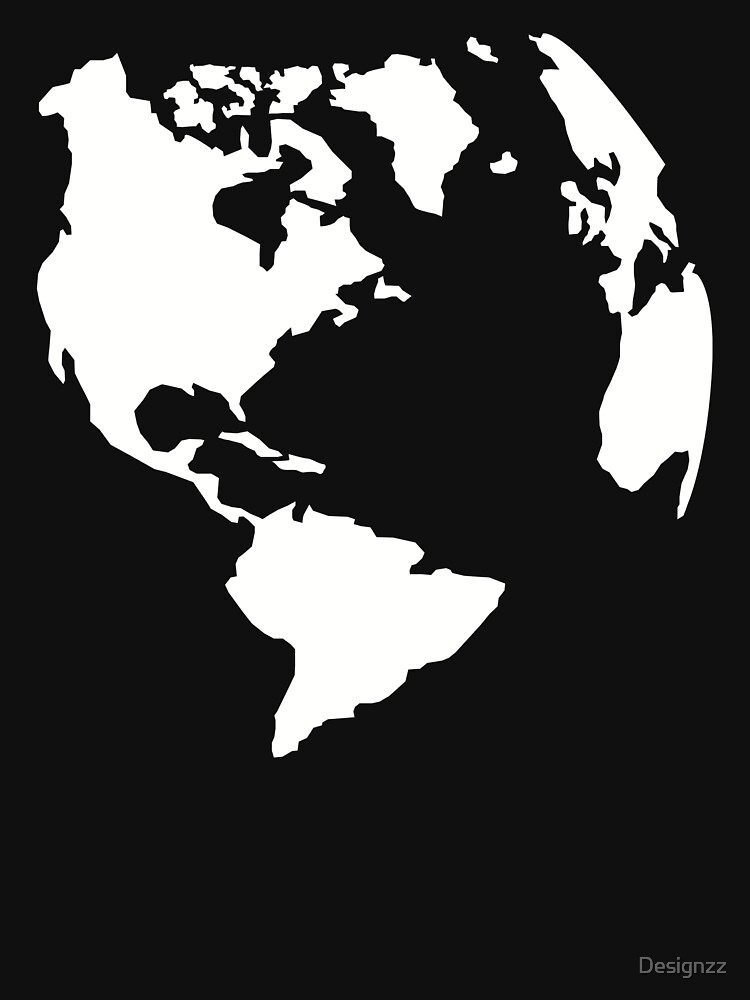 World map globe by Designzz
