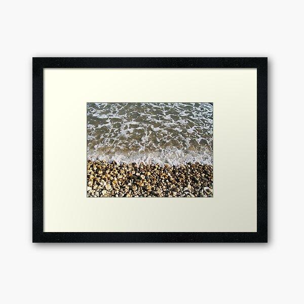 sea what I see Framed Art Print