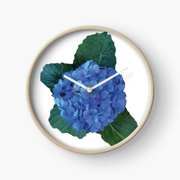 Azores Hydrangea Clock