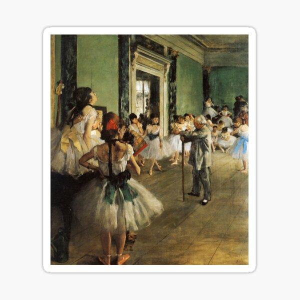 The Dance Class (Degas) Sticker