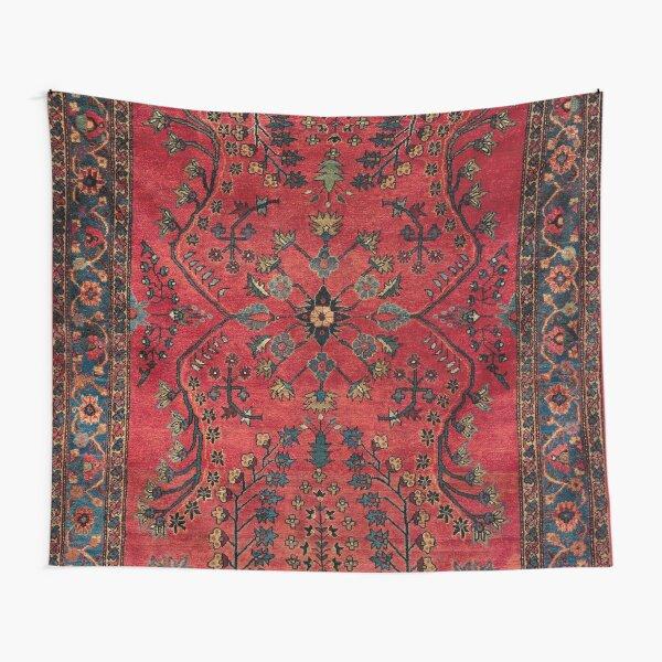 Red Persian Carpet - Persian Vintage Antique Carpet Nature Fine Art Tapestry