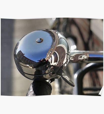 Big bike bell (and me) Poster