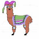 Mama Llama Glama Drama by redqueenself