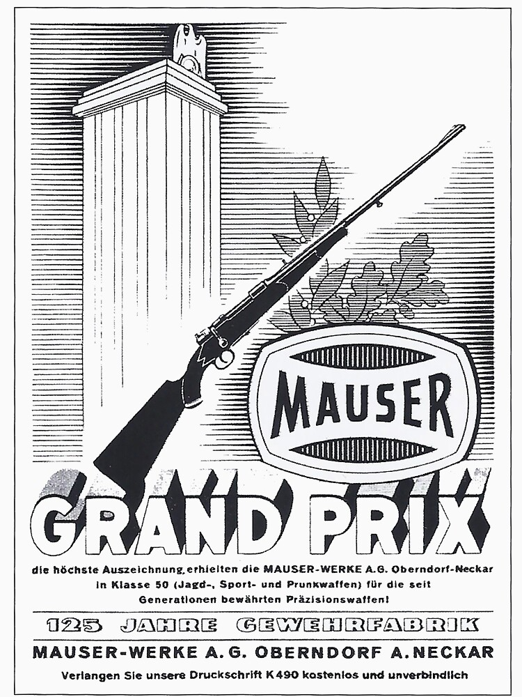 Vintage Mauser hunting rifle by edsimoneit