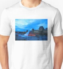 Impressions of Paris - Louvre Pyramid Evening Unisex T-Shirt
