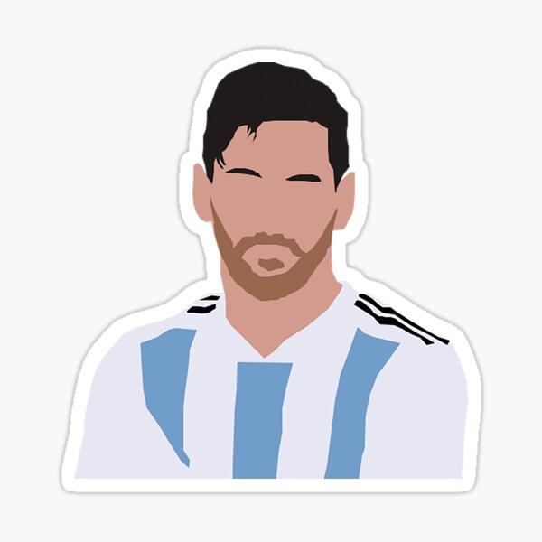 Lionel Messi Pegatina