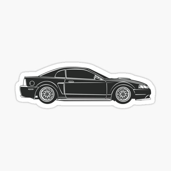 Nouvelle Edge Mustang GT Sticker