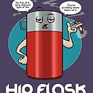 Hip Flask by DocHackenbush