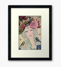 nature spirit -close up Framed Print