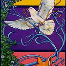 Springtime Art Nouveau by whiterabbitart