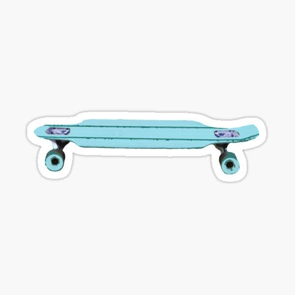 longboard life Sticker