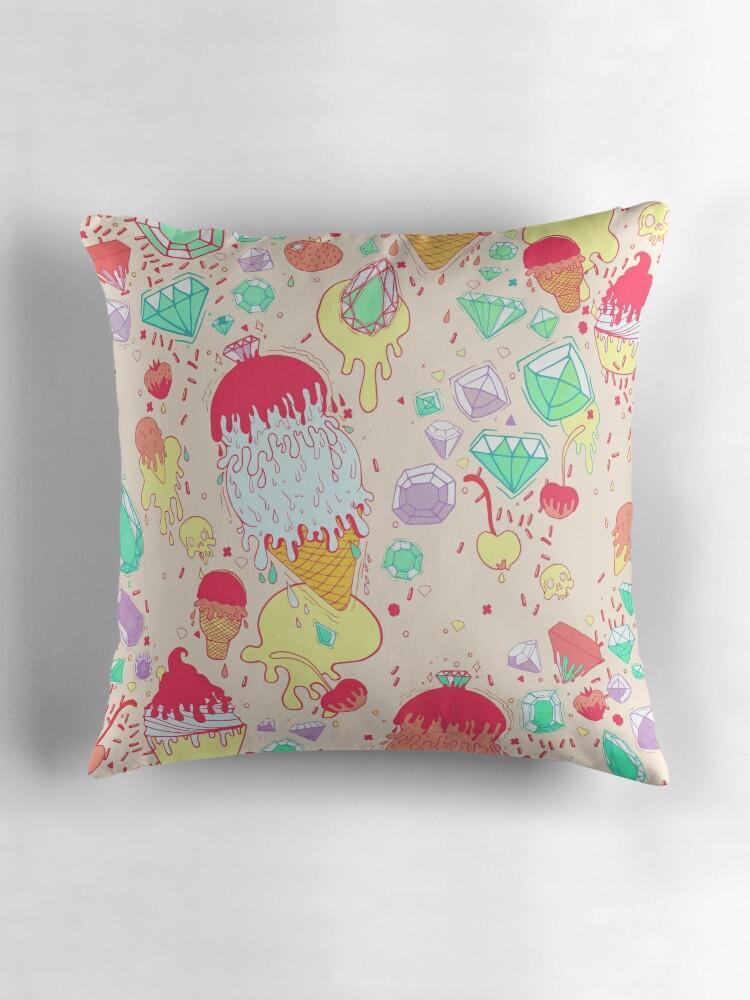 Ice Cream Throw Pillows :