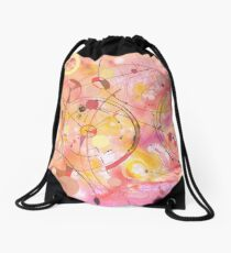 A rounded View Drawstring Bag