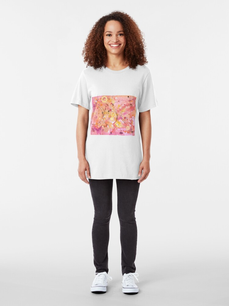 Alternate view of A rounded View Slim Fit T-Shirt