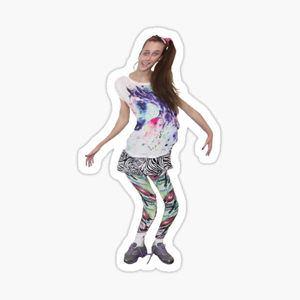 Emma Chamberlain - Horse Girl Sticker