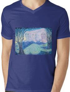 The ghosts of the sacred snakes Mens V-Neck T-Shirt