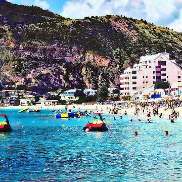 Philipsburg Sint Maarten Beach by SudaP0408