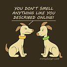 Online Dating Dog Humor Brown by ironydesigns