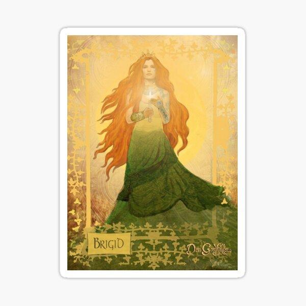 Celtic Goddess; Brigid Sticker