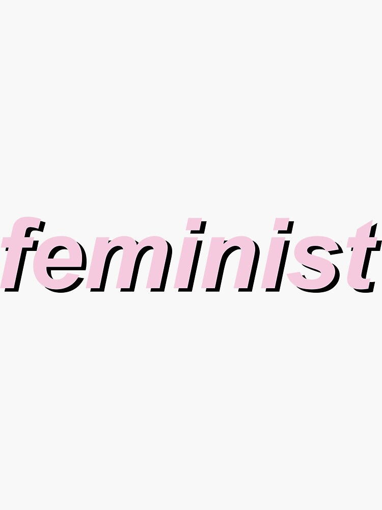 feminist pink by modernfeminist