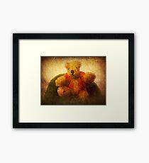 Pooh bear Framed Print