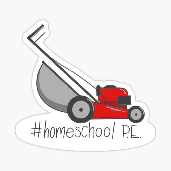 #Homeschool P.E. Sticker