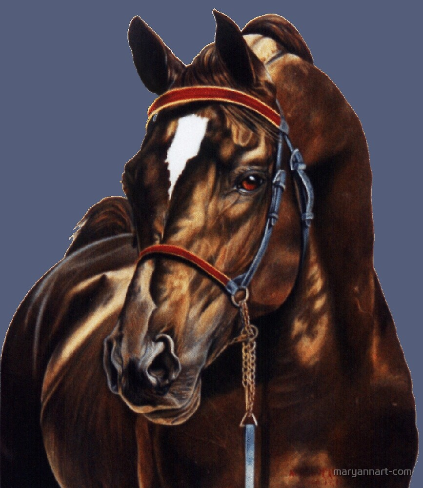 Stallion by maryannart-com