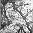 Master of His Territory - Graphite by RodneyCleasby