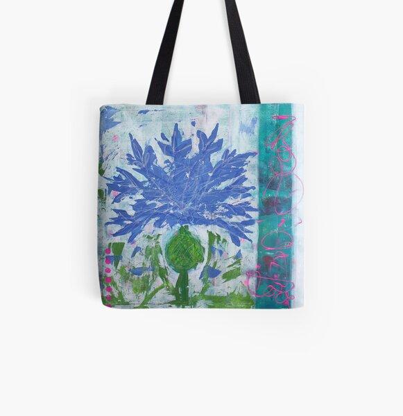 Kornblume | Bluebottle Allover-Print Tote Bag