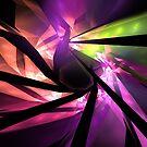 Pink Glass Spiral by KimSyOk