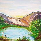 Little Lake in the Mountains by Mary Sedici