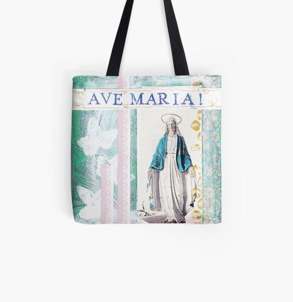 AVE Maria Allover-Print Tote Bag