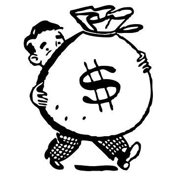MONEYBAGS Pop Art by BruceALMIGHTY