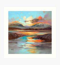 Glen Spean Light Art Print