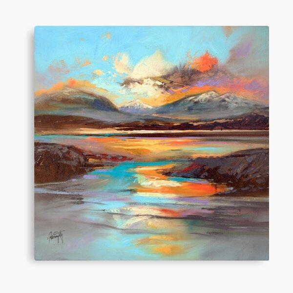 Glen Spean Light Canvas Print