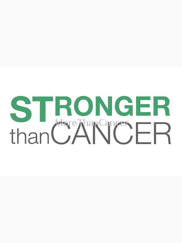 Stronger Than Cancer website logo by MoreThanCancer