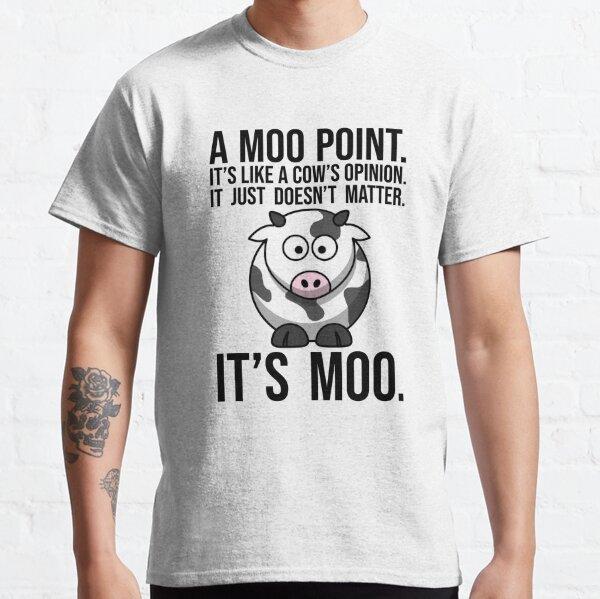 Moo Point T-shirt classique