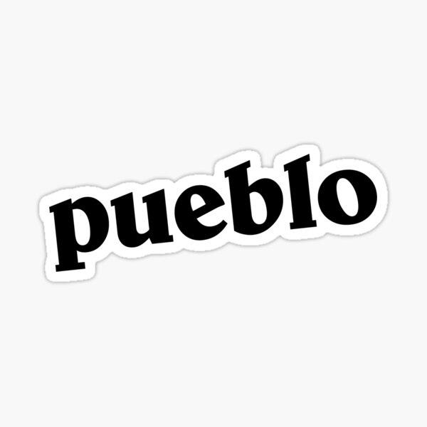 Pueblo Sticker