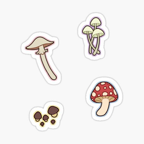 cute mushroom stickers Sticker
