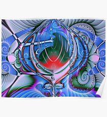 Fancy fractals Poster