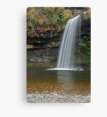 Sgwd Gwladys Waterfall River Pyrddin Canvas Print