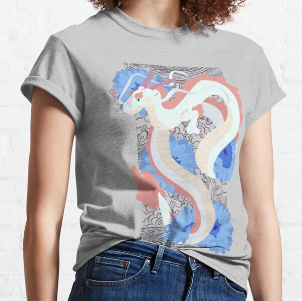 Flower Dragon Classic T-Shirt
